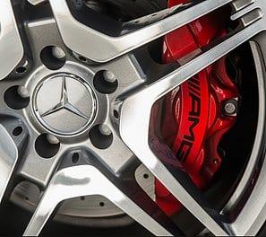 mercedes wheel refurb